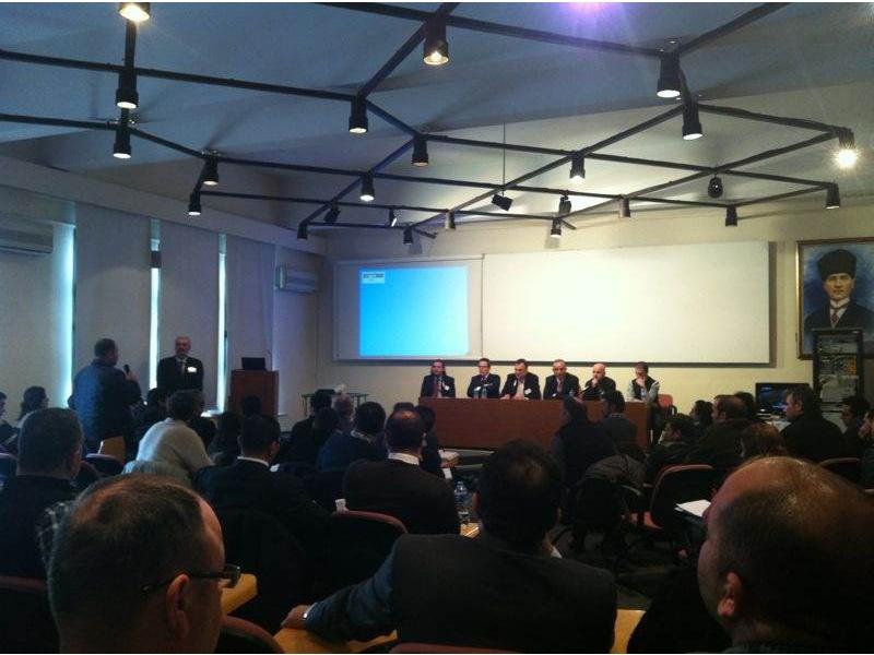 İTÜ Семинар по оптическому волокну и распределению заголовков 2012