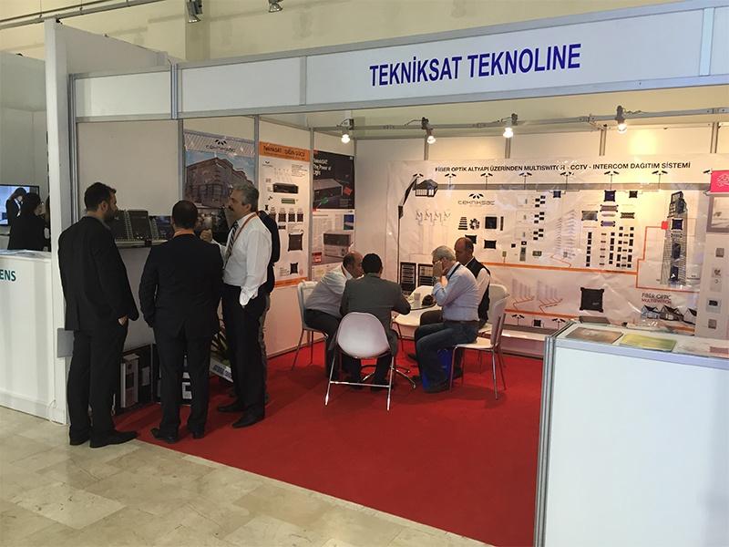 Внутривенно Электромонтаж Измирская конвенционно-выставочная ярмарка 2015